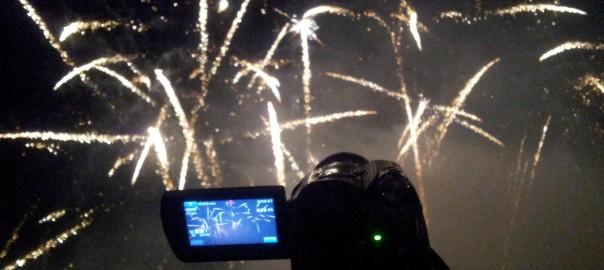filmer vos feux d'artifice