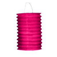 Jacques Prévot Artifices - douzaine de lampions cylindrique fuschia 16 cm