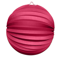 Jacques Prévot Artifices - douzaine de lampions ballon fuschia 22 cm
