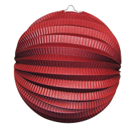 Jacques Prévot Artifices - douzaine de lampions ballon 22 cm rouge