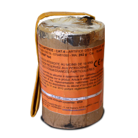 Jacques Prévot Artifices - pot à feu 75 mm citron