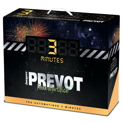 Jacques Prévot Artifices - Feu d'artifice automatique Jacques PREVOT 3 minutes